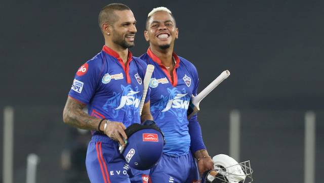 Shikhar Dhawan scored 69 off 47 as Delhi Capitals defeated Punjab Kings. Image: Sportzpics for IPL