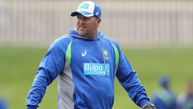 David Saker was with the Australian team during the 2018 ball-tampering scandal. Image courtesy: Twitter @VOICE_2U