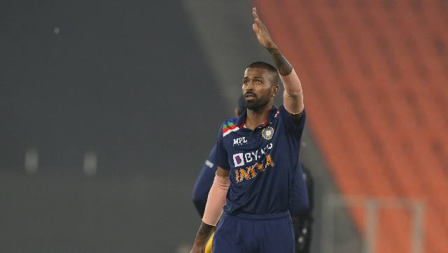 """""""If Hardik doesn't bowl, it disturbs the balance of the side hugely. You have to play an extra bowler because of that and someone like Surykumar Yadav has to miss out,"""" said Sarandeep Singh. Sportzpics"""