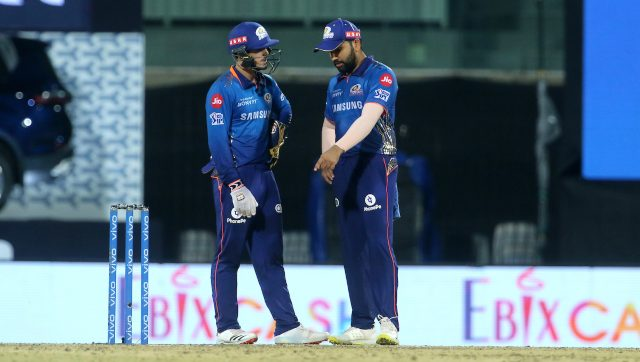 Mumbai Indians have lost three out of six matches so far in IPL 2021. Image: Sportzpics for IPL