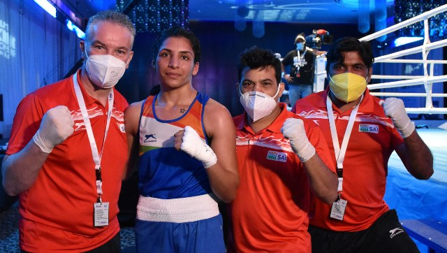 Asian Boxing Championships Amit Panghal Varinder Singh advance to semis as Indias assured medal haul swells to 14
