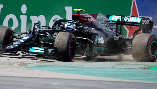 Formula 1 2021 Lewis Hamilton tops Spanish GP second practice while Max Verstappen finishes distant ninth