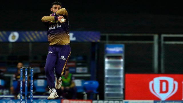 Varun Chakaravarthy could get into India's squad for T20 World Cup if he does well in Sri Lanka. Image: Sportzpics