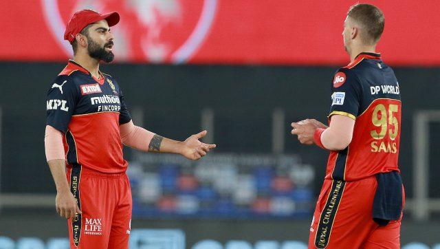 Virat Kohli during RCB's match against PBKS. Image: Sportzpics for IPL