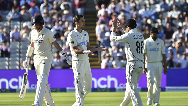 Trent Boult finished with six wickets in the match. AP