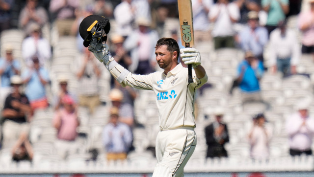 Johannesburg-born New Zealand opener Devon Conway became only the seventh batsman in the history of Test cricket to score a double century on debut. AP