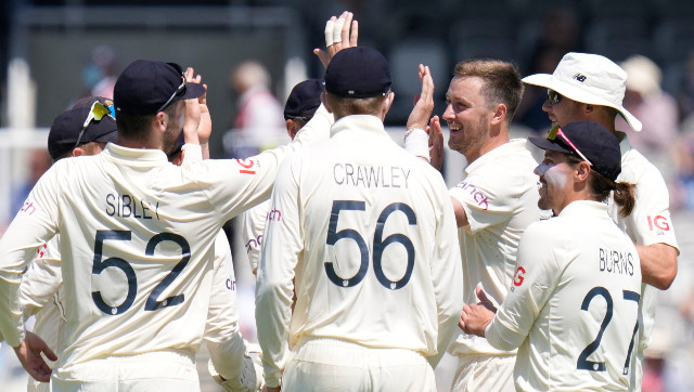 England were found to be two overs short of the target in the first Test against New Zealand after time allowances were taken into consideration. AP