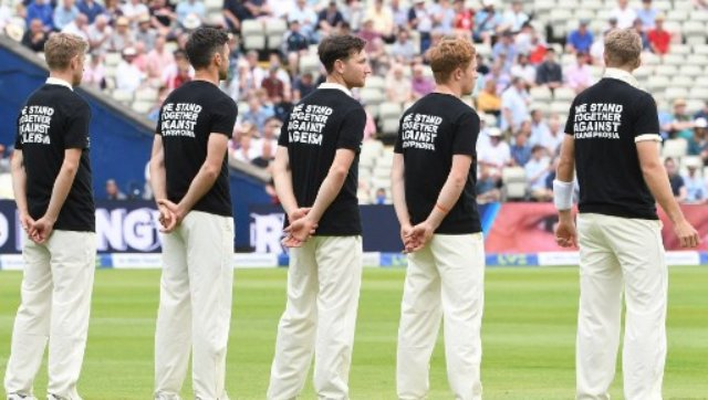 """Michael Holding, who is a passionate advocate for equality in cricket and the wider community, feels the gesture is akin to saying """"all lives matter"""" rather than supporting BLM movement. AFP"""