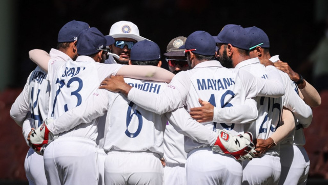 File image of the Indian cricket team. AFP
