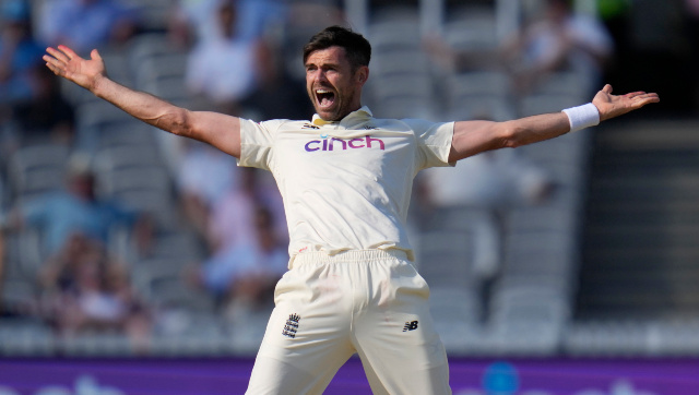 James Anderson made his 161st Test appearance at Lord's in the series opener against New Zealand, going level with former captain Alastair Cook for most Test appearances by an English cricketer. AP