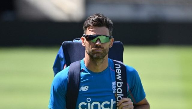James Anderson will become England's most capped Test player, surpassing former run-machine Alastair Cook, if he plays in the second Test against New Zealand. AFP