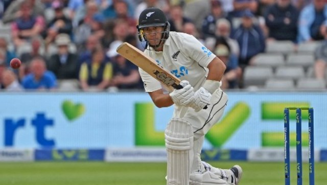 """You want to be professional in the way you go about it,"""" Ross Taylor told reporters after stumps. AFP"""
