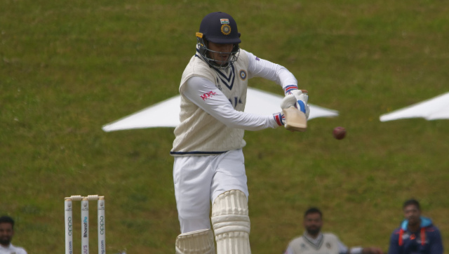 Shubman Gill, fighting to retain his opener's slot in the India XI, struck 85 off 135 balls on the second day of the intra-squad simulation game. AFP