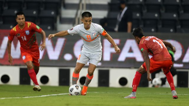 FIFA World Cup 2022 Qualifiers Chhetri inspires India to 20 win but issues persist in finishing and linkup play
