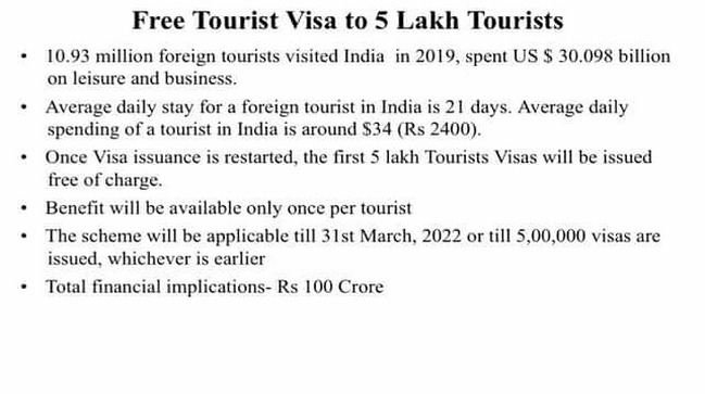 Nirmala Sitharaman announces new COVID19 stimulus measures From Rs 23220 cr for public health to free 5 lakh tourist visa key highlights