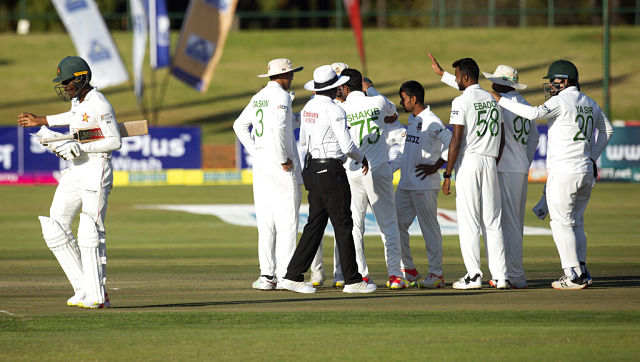 Bangladesh need 7 wickets to win the one-ff Test. AP