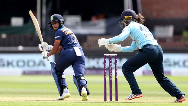 Harmanpreet Kaur has crossed fifty only twice in last 28 matches. AP