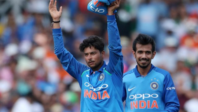 The well-known spin duo of Yuzvendra Chahal and Kuldeep Yadav, popularly called 'Kul-Cha' maybe seen in action in the Sri Lanka series. Reuters.