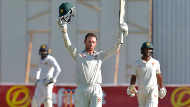 File image of Zimbabwe batsman Sean Williams. Image credit: Twitter/@ICC