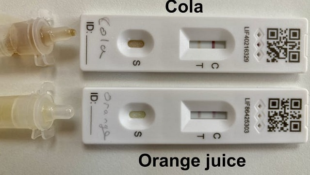 COVID19 Children are using soft drinks to fake positive tests heres the science behind it