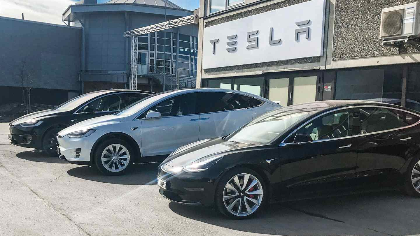 All of Tesla's offerings - barring the base Model 3 - cost more than $40,000 in the US. Image: Tesla