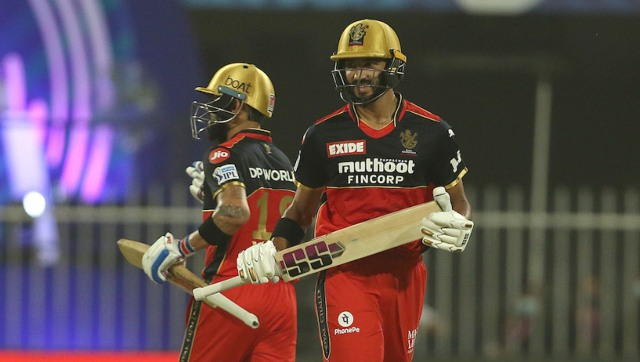 Earlier, Kohli and Padikkal went hammer and tongs after being asked to take first strike but once the partnership was broken by Dwayne Bravo, RCB lost the momentum. Photo by Rahul Gulati / Sportzpics for IPL