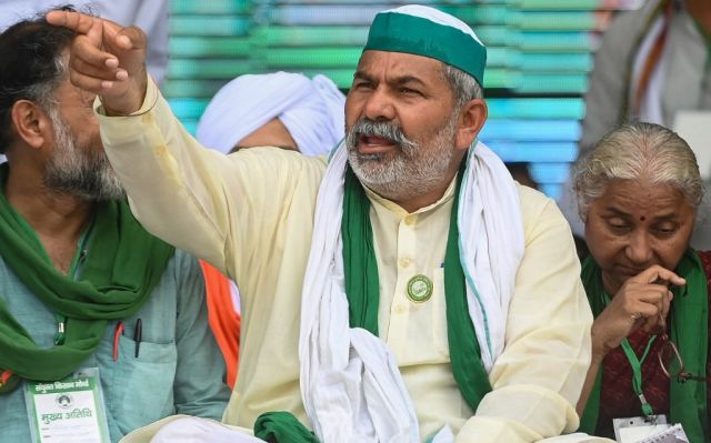 , Thousands of farmers gather at UP's Muzaffarnagar, vow to 'save the country from BJP's corporate raj', The World Live Breaking News Coverage & Updates IN ENGLISH