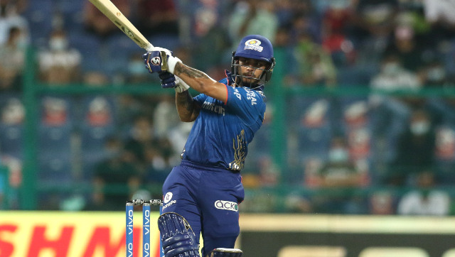 Ishan Kishan struck a whirlwind 84 off just 32 balls to be adjudged the Player of the Match in Mumbai Indians' 42-run win over Sunrisers Hyderabad in their final game of IPL 2021. Sportzpics