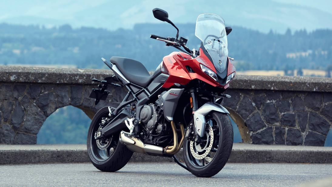 The Triumph Tiger 660 features small but vital changes over the Trident 660. Image: Triumph Motorcycles