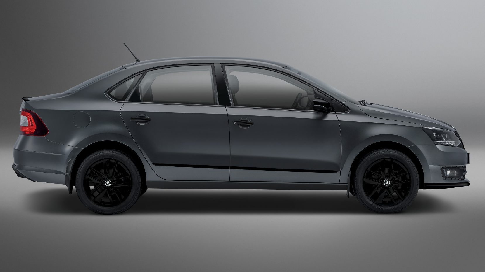 The Skoda Rapid Matte Edition marks the end of the road for the Rapid, with an all-new Skoda sedan due early next year. Image: Skoda