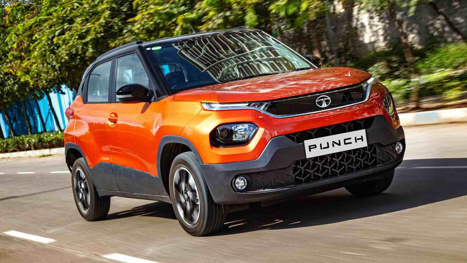 The Tata Punch will slot in below the Nexon in the carmaker's SUV range. Image: Tata Motors