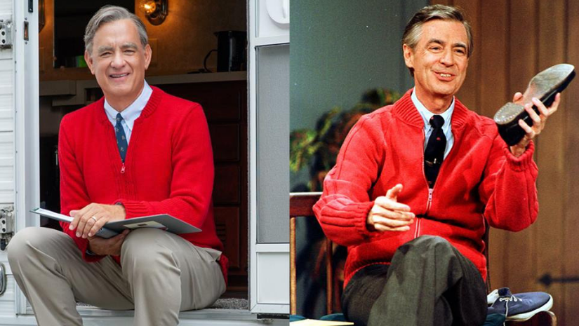 A Beautiful Day in the Neighborhood review roundup Tom Hanks charms as Fred Rogers and is coming for Oscar No 3