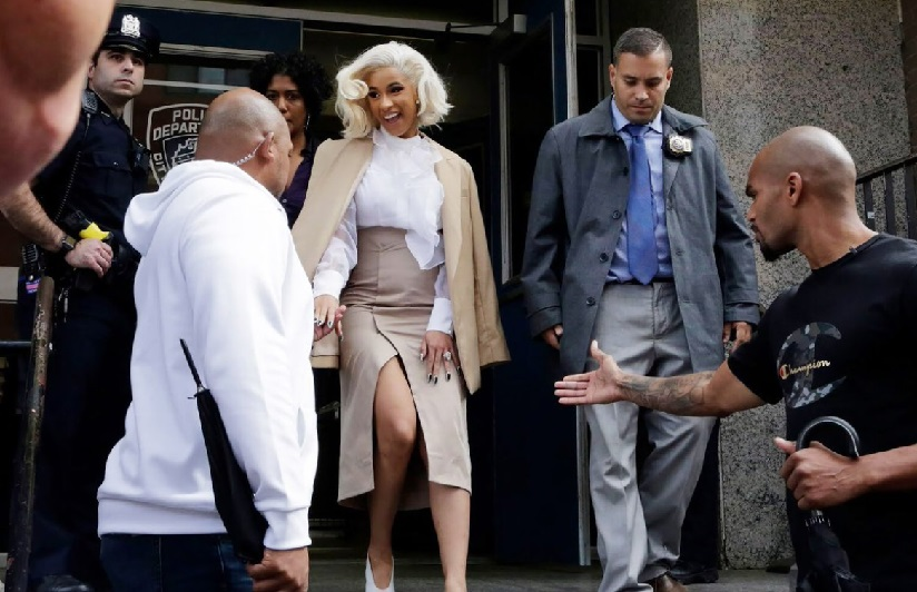Cardi B charged with assault reckless endangerment for involvement in New York strip club brawl