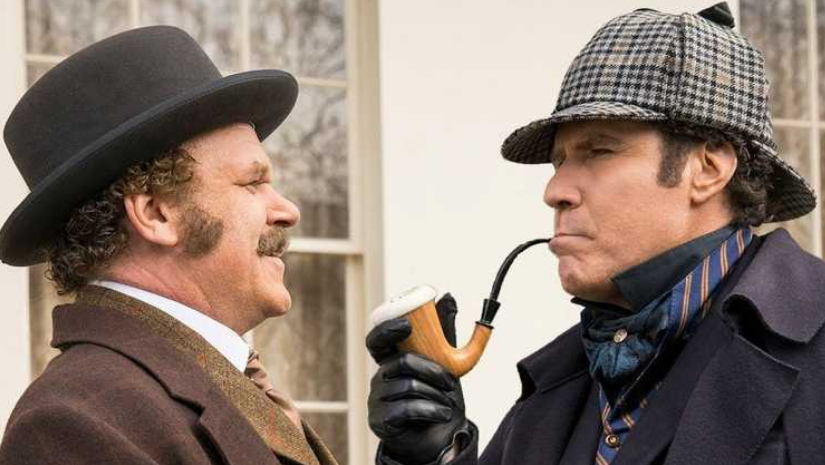 Holmes  Watson review roundup Will Ferrell John Reilly film is a failure on almost every level
