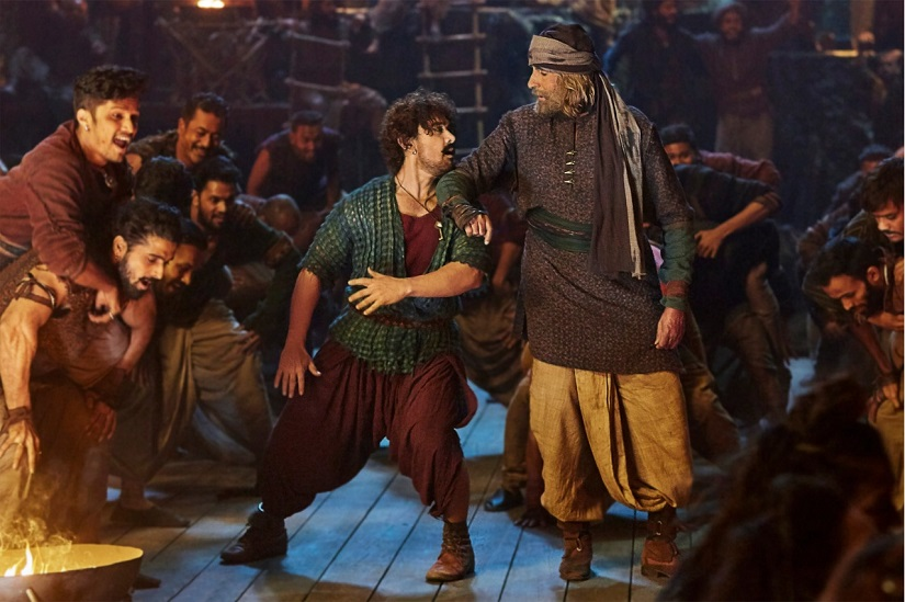 Thugs of Hindostan movie review Aamir Khan is fun Amitabh Bachchan lifeless in Bwoods Pirates of the Caribbean