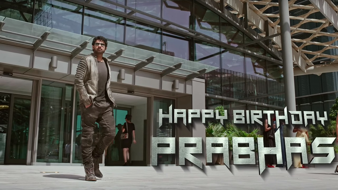 Shades of Saaho Makers release chapter 1 of behindthescenes teaser video on Prabhas 39th birthday