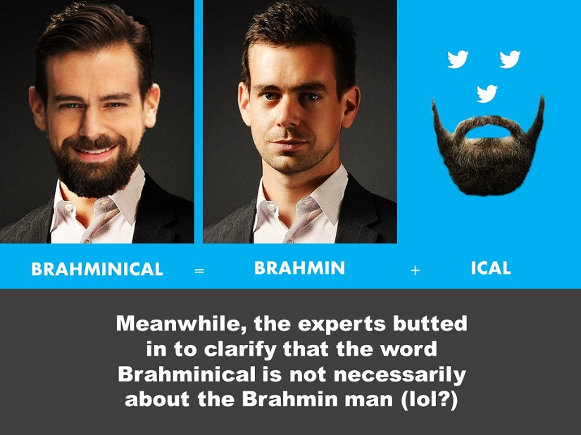 The story of Jack Dorsey and the smashing Brahmin backlash told in memes