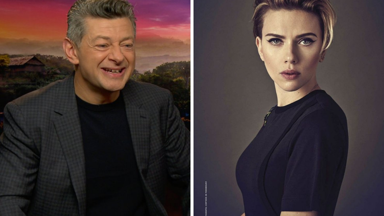 Andy Serkis defends Scarlett Johansson in Rub  Tug controversy Actors should be able to play anything