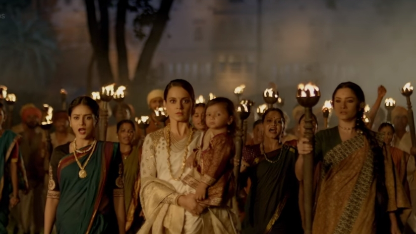 Manikarnika The Queen of Jhansi trailer sees Kangana Ranaut as fearless leader valiant warrior protective mother