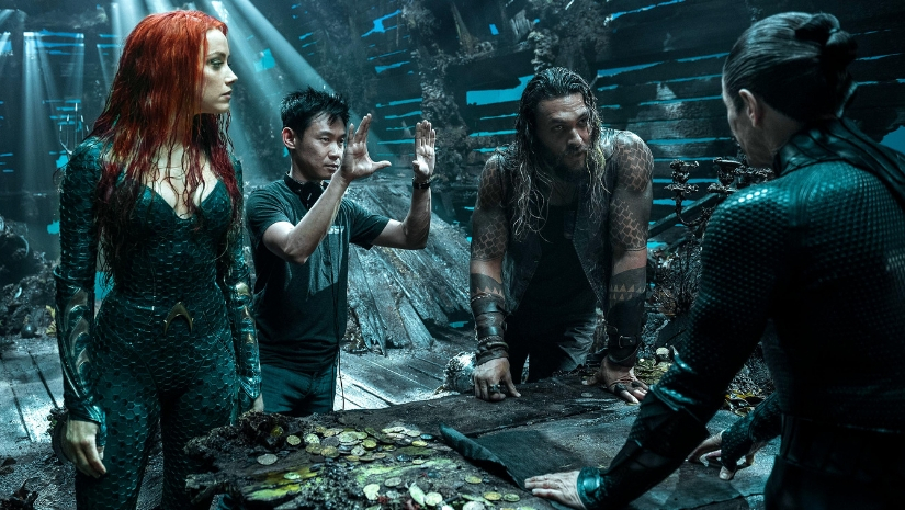 Director James Wan on Aquaman A first of its kind in superhero space in terms of underwater sequences