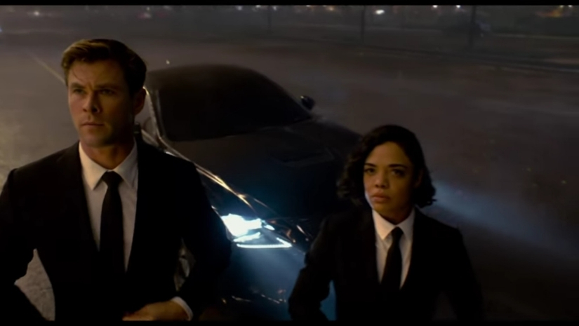 Men In Black International trailer  Chris Hemsworth Tessa Thompson step up their game in F Gary Grays spinoff