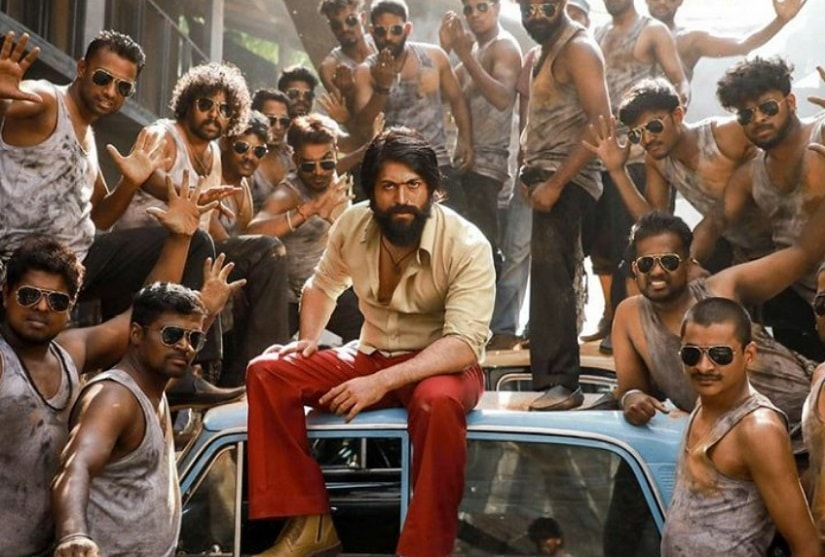 KGF Chapter 1 box office collection  Hindi version of Yashstarrer mints Rs 121 cr in four days