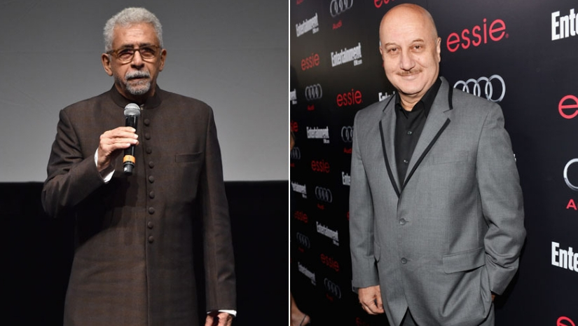 Anupam Kher says he wont respond to Naseeruddin Shahs comment Hes my senior and I love him