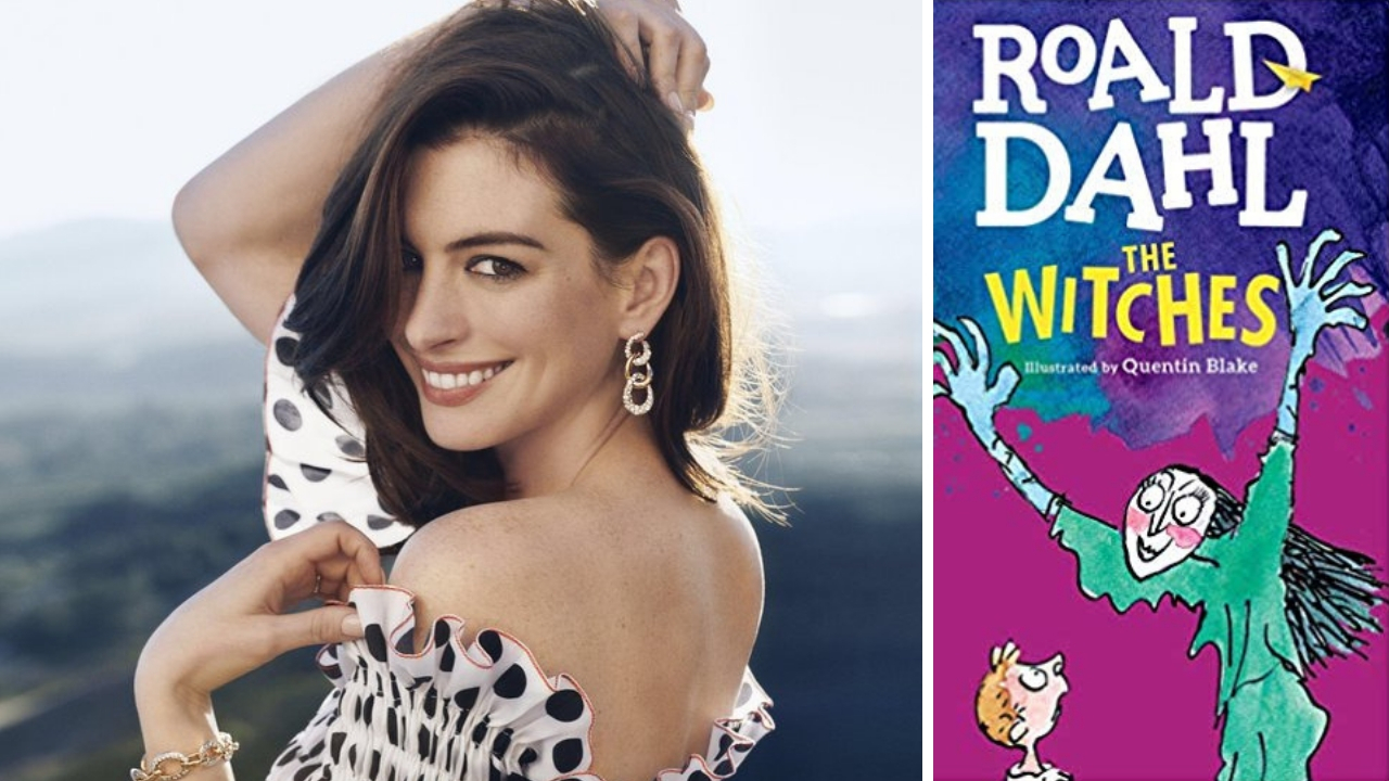 Anne Hathaway roped in for Robert Zemeckis film adaptation of Roald Dahls 1973 novel The Witches