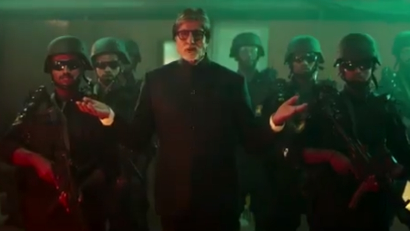 Amitabh Bachchan introduces Mumbai Polices Quick Response Team in a video directed by Ali Abbas Zafar