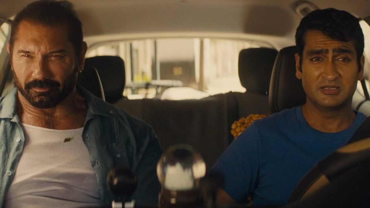 Stuber trailer Kumail Nanjiani Dave Bautista embark on a wild actionpacked Uber ride in this comedy