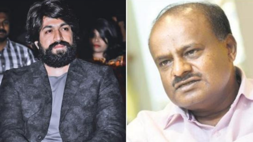 KGF star Yash threatened by HD Kumaraswamy Stars like him wouldnt survive if not for producers like us