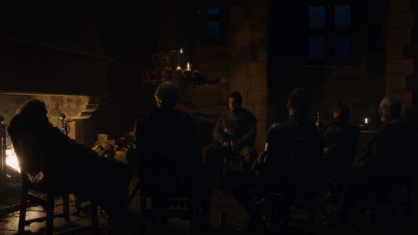 Game of Thrones season 8 episode 2 Does Podricks song predict dark times for Daenerys Jon Snow