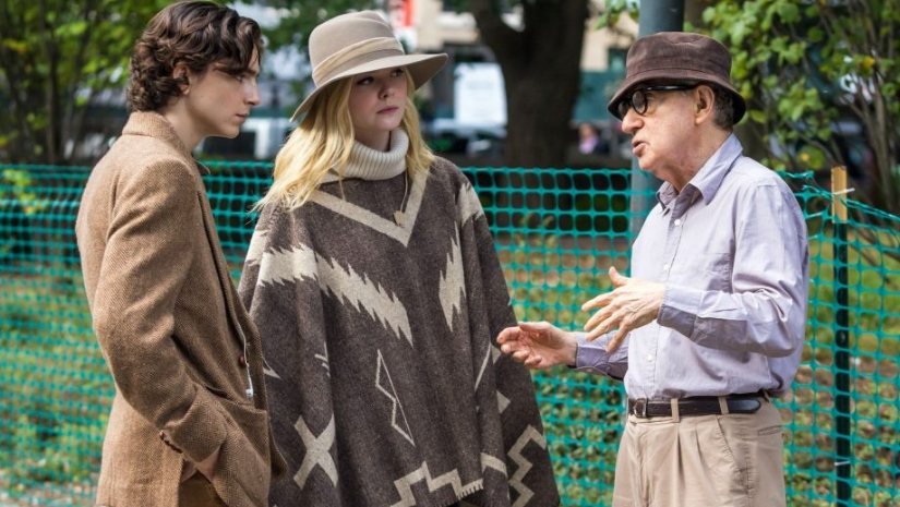 Woody Allens A Rainy Day in New York featuring Timothee Chalamet to open in France on 18 September