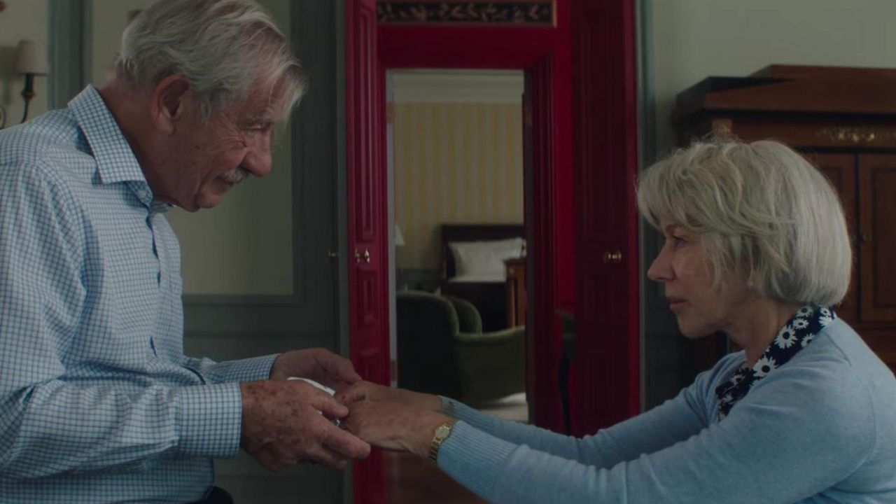 The Good Liar movie review Ian McKellen Helen Mirren excel in a charming yet inconsistent con film